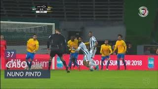 Vitória FC, Caso, Nuno Pinto aos 37'