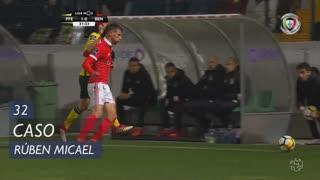 FC P.Ferreira, Caso, Rúben Micael aos 32'