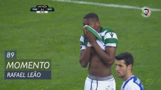 Sporting CP, Jogada, Rafael Leão aos 89'