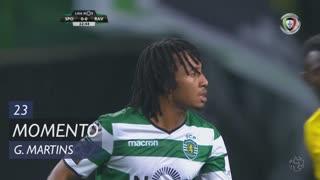 Sporting CP, Jogada, Gelson Martins aos 23'