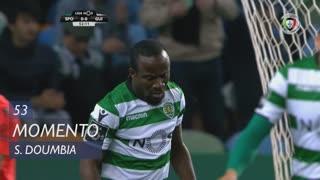Sporting CP, Jogada, S. Doumbia aos 53'
