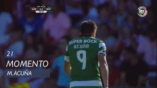 Sporting CP, Jogada, M. Acuña aos 21'