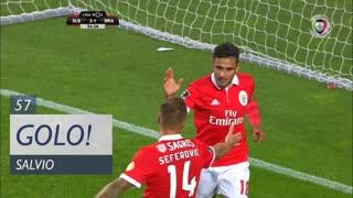 GOLO! SL Benfica, Salvio aos 57', SL Benfica 3-1 SC Braga
