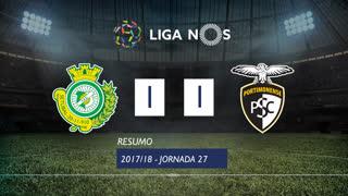 Liga NOS (27ªJ): Resumo Vitória FC 1-1 Portimonense