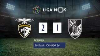 Liga NOS (26ªJ): Resumo Portimonense 2-1 Vitória SC