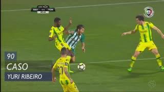 Rio Ave FC, Caso, Yuri Ribeiro aos 90'
