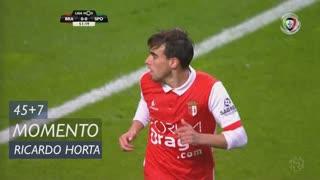SC Braga, Jogada, Ricardo Horta aos 45'+7'