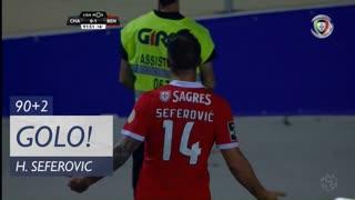 GOLO! SL Benfica, H. Seferovic aos 90'+2', GD Chaves 0-1 SL Benfica