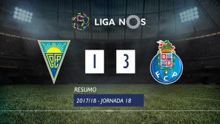 Liga NOS (18ªJ): Resumo Estoril Praia 1-3 FC Porto