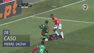 Moreirense FC, Caso, Pierre Sagna aos 28'
