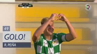 GOLO! Moreirense FC, R. Peña aos 49', Moreirense FC 2-1 Rio Ave FC