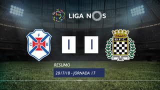 Liga NOS (17ªJ): Resumo Belenenses 1-1 Boavista FC