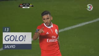 GOLO! SL Benfica, Salvio aos 13', SL Benfica 1-0 Estoril Praia
