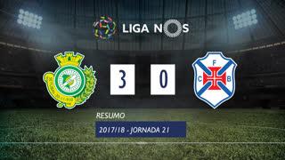 Liga NOS (21ªJ): Resumo Vitória FC 3-0 Belenenses
