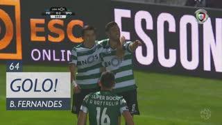 GOLO! Sporting CP, Bruno Fernandes aos 64', CD Feirense 0-2 Sporting CP
