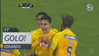 GOLO! Estoril Praia, Eduardo aos 17', Estoril Praia 1-0 FC Porto