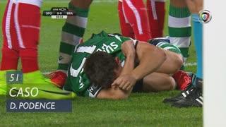 Sporting CP, Caso, Daniel Podence aos 51'