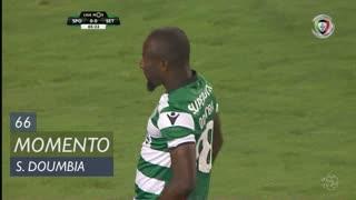 Sporting CP, Jogada, S. Doumbia aos 66'