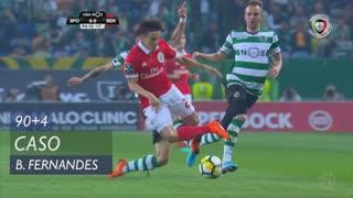 Sporting CP, Caso, Bruno Fernandes aos 90'+4'