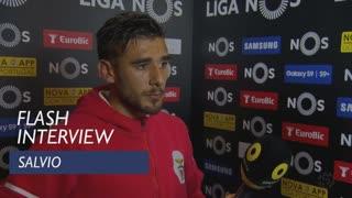 Liga (31ª): Flash interview Salvio