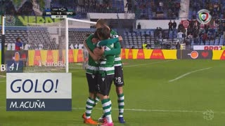 GOLO! Sporting CP, M. Acuña aos 41', Belenenses 1-3 Sporting CP