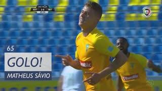GOLO! Estoril Praia, Matheus Sávio aos 65', Estoril Praia 2-0 Vitória FC