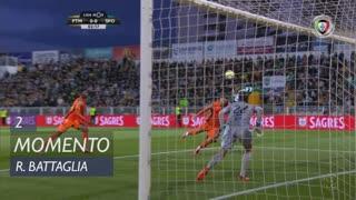 Sporting CP, Jogada, Rodrigo Battaglia aos 2'