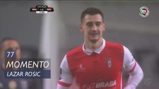 SC Braga, Jogada, Lazar Rosic aos 77'