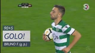 GOLO! Sporting CP, Bruno Fernandes aos 90'+5', Sporting CP 2-2 SC Braga