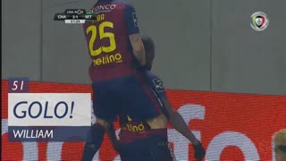 GOLO! GD Chaves, William aos 51', GD Chaves 2-1 Vitória FC