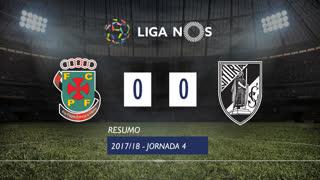Liga NOS (4ªJ): Resumo FC P.Ferreira 0-0 Vitória SC