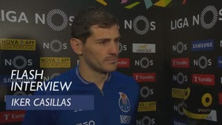 Liga (26ª): Flash interview Iker Casillas