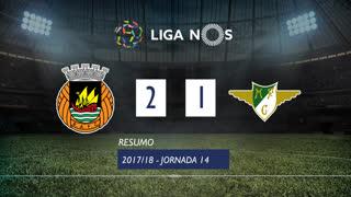 Liga NOS (14ªJ): Resumo Rio Ave FC 2-1 Moreirense FC