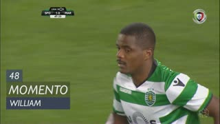 Sporting CP, Jogada, William aos 48'