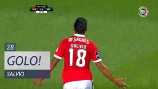 GOLO! SL Benfica, Salvio aos 28', SL Benfica 2-0 Belenenses SAD