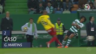 Sporting CP, Caso, Gelson Martins aos 2'