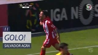 GOLO! CD Aves, Salvador Agra aos 11', FC P.Ferreira 0-2 CD Aves