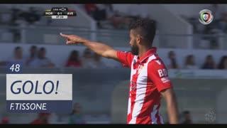 GOLO! CD Aves, F. Tissone aos 48', Moreirense FC 0-2 CD Aves