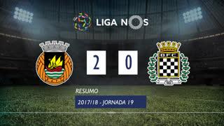 Liga NOS (19ªJ): Resumo Rio Ave FC 2-0 Boavista FC
