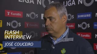 Liga (29ª): Flash interview José Couceiro