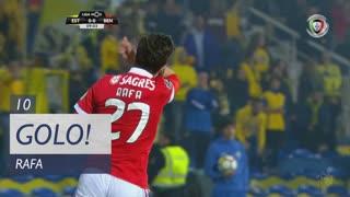 GOLO! SL Benfica, Rafa aos 10', Estoril Praia 0-1 SL Benfica