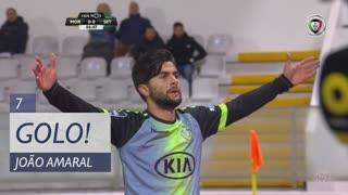 GOLO! Vitória FC, João Amaral aos 7', Moreirense FC 0-1 Vitória FC