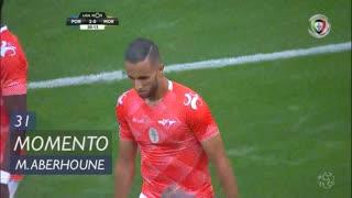 Moreirense FC, Jogada, M. Aberhoune aos 31'