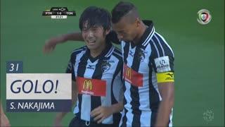 GOLO! Portimonense, S. Nakajima aos 31', Portimonense 1-0 CD Tondela