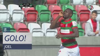 GOLO! Marítimo M., Joel aos 8', Marítimo M. 1-0 Vitória FC