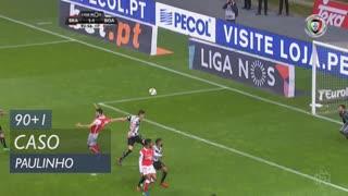 SC Braga, Caso, Paulinho aos 90'+1'
