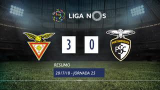 Liga NOS (25ªJ): Resumo CD Aves 3-0 Portimonense