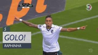 GOLO! Vitória SC, Raphinha aos 5', Vitória SC 1-0 Marítimo M.
