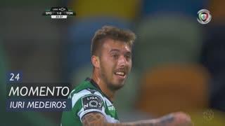 Sporting CP, Jogada, Iuri Medeiros aos 24'