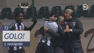 GOLO! Portimonense, S. Nakajima aos 73', FC P.Ferreira 1-1 Portimonense
